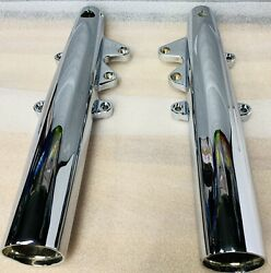Indian Oem 2014 -20 Chief Classic Roadmaster Chrome Fork Legs Outright