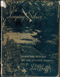 1940 Inscribed And Signed Leaping Silver Words And Pix Of Atlantic Salmon By Wulff