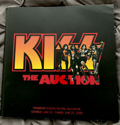 Kiss The Auction Book -2000 Butterfields Auction -rare Hard To Find Oop