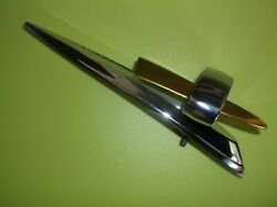 1959 Ford Galaxie/fairlane 500 Flying Eclipse Hood Ornament Re-chromed