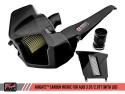 Awe Tuning Airgate Carbon Fiber Intake With Lid For 18-21 Audi Rs 5 / S4 / S5