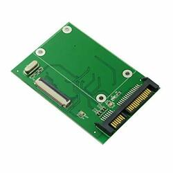 Cablecc 40 Pin Zif Ce 1.8 Inch Ssd/hdd To Sata Adapter Board With Lif Flat Cable