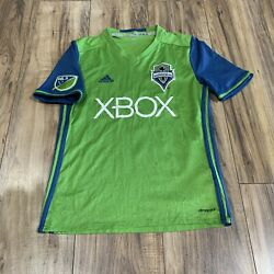 Adidas Climacool Clint Dempsey Seattle Sounders Fc Jersey Size Youth Large 13-14