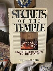 Secrets Of The Temple How The Federal Reserve Runs The Country, Conspiracy