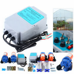 24v Electric Film Roll Up Motors 100w For Greenhouse Controller Box Creeper Kit