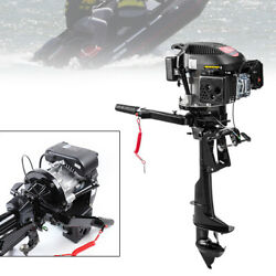 6hp 4 Stroke Outboard Motor Boat Engine Air Cooling Electronic Ignition Hangkai