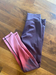 Darling Vie Active Pink Ombre Leggings In A Sz S