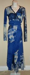 Gorgeous Nwt Jean Paul Gaultier And039marineand039 Sleeveless Dress And Wrap Top Set