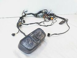 91-93 Bmw K100rs K1100lt K1100rs Speedometer Tach Instrument Cluster And Harness