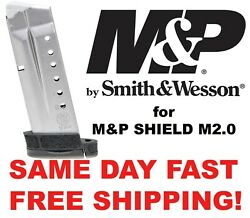 Smith And Wesson Mandp Shield M2.0 9mm 8 Rd Factory Mag 3009876 Same Day Free Ship