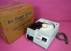Rx Count Hispac 470-m3fs Tablet Capsule Pharmacy Pill Counter System And Box