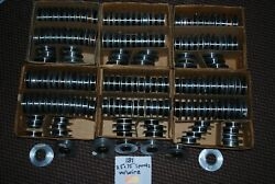 """181 3.5""""x.75"""" Aluminum Spools Of Various Fine Resistance Wire -huge Mixed Lot"""