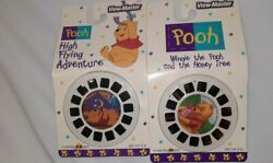 New Vintage Winnie The Pooh High Flying Adventure View Master Slides 6 Reels Lot