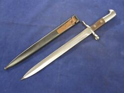 Swiss K31 Bayonet With Scabbard - Unissued, Excellent - No Serials