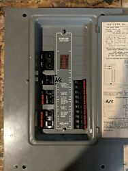 Federal Pacific Stab Lok Load Center 100 Amp Service With Breakers