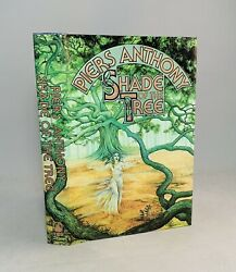 Shade Of The Tree-piers Anthony-signed-true First/1st Edition-1st State Dj-rare