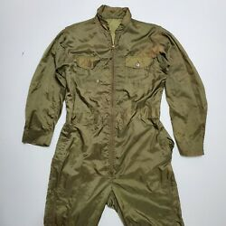 1940s Nylon Lightweight Flying Suits Vintage Military Wwii Flight