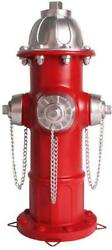Dog Fire Hydrant Garden Statue, Perfect Puppy Pee Training Post, Indoor
