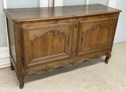Antique French Provincial/louis Xv Sideboard/buffet In Solid Oak