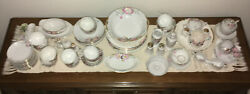 Noritake Azalea China Large Collection Mixed Lot All Vgc To Exc Vintage Antique