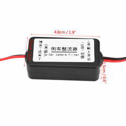 12v Dc Power Relay Capacitor Filter Rectifier For Car Rear View Backup Camera