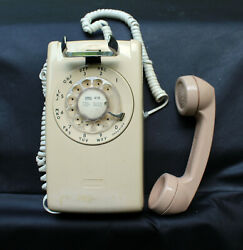 1970and039s Bell System Western Electric Rotary Dial Wall Phone Vintage Parts