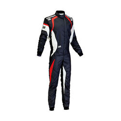 New Omp One Evo My15 Black/white Racing Suit With Fia Homologation - 62