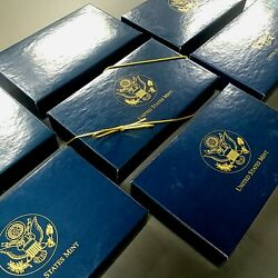 Us Mint Gift Boxes 7 Piece Lot Boxes And Cards