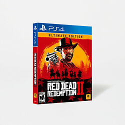 Red Dead Redemption 2 Ultimate Edition Playstation 4 / Ps4 Sealed Brand New
