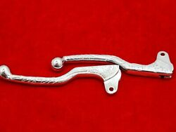 Chromed Beautifully Engraved Levers Pair Suitable For Royal Enfield @pummy