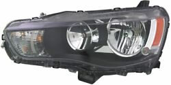 Tyc 20-9262-00 Mitsubishi Outlander Left Replacement Head Lamp 20-9262-00