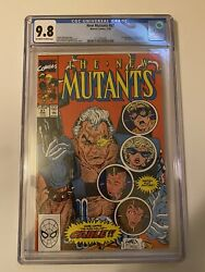 New Mutants 87 Cgc 9.8 First Appearance Cable