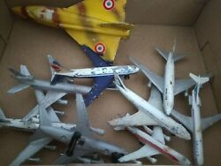 Lot Of 9 Vintage Toy Airplanes