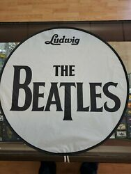 The Beatles Rockband Drum Cover Sign Shade Nintendo Microsoft Sony Playstation