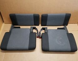 2004 2012 Colorado Gmc Canyon Cover Jack Rear Jump Seat Cup Holder 2nd Row Trim
