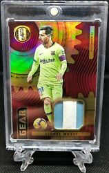 2019-20 Panini Gold Standard Lionel Messi Barcelona Patch Jersey Relic Gold /10