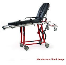 Ferno 93-h Proflexx H-frame Ambulance Cot Gurney 650 Lb. Capacity In Red
