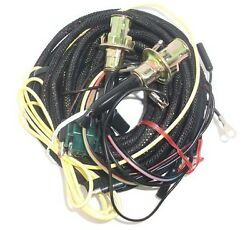 67 Mustang Tail Light Wiring Harness W/o Low Fuel Lamp And Sockets, Fastback/coupe