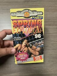 Wwf Spring Explosion 96 1996 Vhs, In Your House 6, Rage In The Cage Hart Diesel