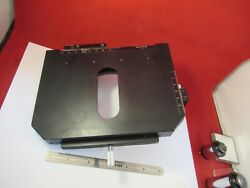 Olympus Japan Vanox Stage Table Rotatable Microscope Part As Pictured Andq5-a-54