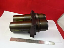 Brass Mounted Lenses Aus Jena Zeiss Germany Optics Microscope Part As Is 93-13
