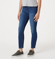 Jen7 By7 For All Mankind - Ankle Skinny Jeans - Medium Wash - Select Size