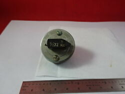 Vintage Bliley Electric Quartz Frequency Resonator Vf1 Variable As Is And55r-a-08