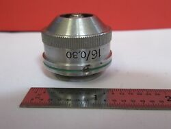 Zeiss Winkel Epi 16x Germany Objective Microscope Part As Pictured And4b-a-62