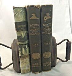 Battles And Leaders Of The Civil War The Century Co 1885 Collectible Antique Set