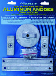 New Anode Kit L4 Verado 4 Strokes And All Optimax Outboards Mercury 8m0107551