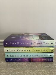 Lot Of 4 Hardcover Books Lisa Kleypas Complete Friday Harbor Series Bce