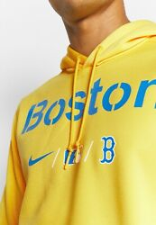 NIKE Boston Red Sox City 617 Fenway Park's Area Connect Authentic Therma Hoodie
