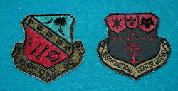 Swamp Fox 169th Tactical Fighter Group South Carolina Ang Patches @ Lot Of 2