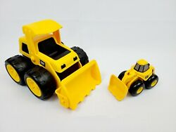 Cat Tough Tracks Loader 8 And Toy State Cat Mini Toy Front End Loaders A-5